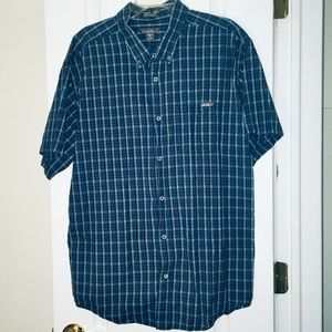 Eddie Bauer Plaid Button Down s/s